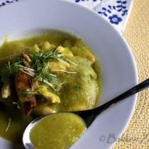 Broccoli soep met kip