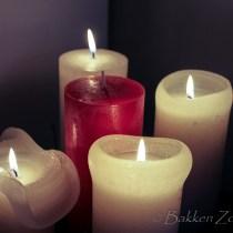 4e Advent vier kaarsjes kerstmis