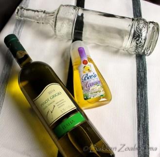 Witte wijn en honing voor Oud Romeinse Wijn Mulsum
