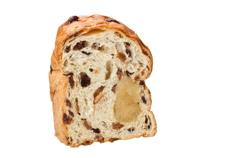 krenten rozijnenbrood met spijs