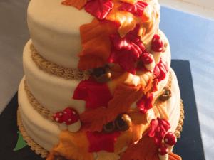 bruidstaart herfst