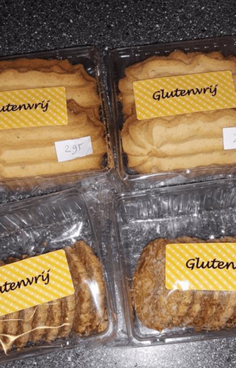 Glutenvrij Sprits en vruchtenkoekjes