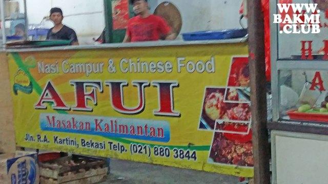 Afui Masakan Kalimantan Bekasi
