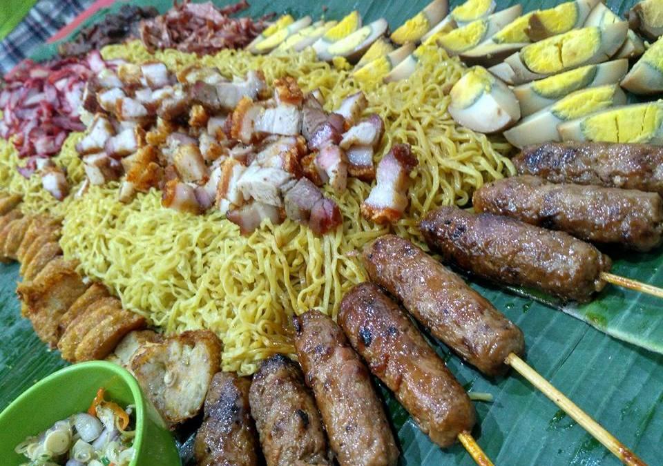 Nasi Bancakan/Botram/Liwet Babi di Ho Liaw