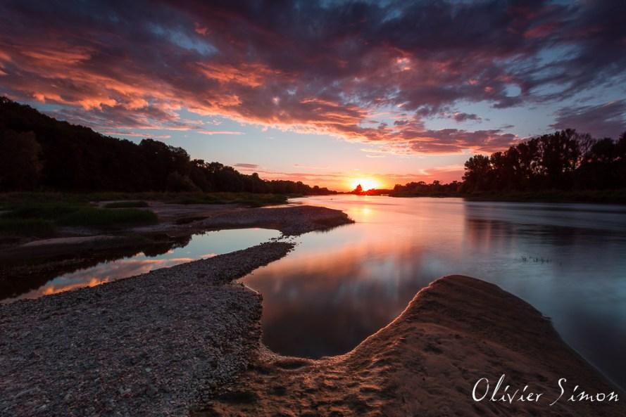 Loire au couchant