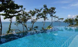 swimming pool near beach