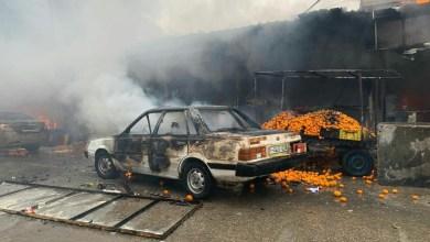 صورة وفاة 9 مواطنين وعشرات اصابات جراء انفجار بمخيم النصيرات وسط قطاع غزة