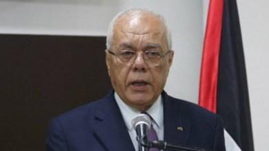 صورة وفاة أمين عام الرئاسة الفلسطينية الطيب عبد الرحيم