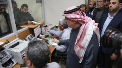صورة العمادي : صرف المنحة القطرية لغزة مطلع الاسبوع القادم