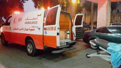 صورة وصول أكثر من 40 حالة تسمم من عائلة واحدة إلى مستشفى الجزائري شرق خانيونس
