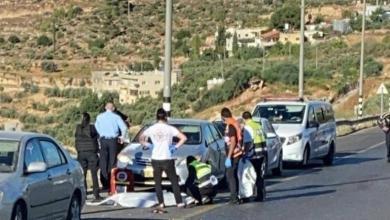 صورة العثور على جثة مواطن على الشارع الملتف غرب بيت لحم