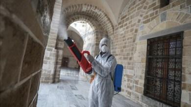 صورة وزارة الأوقاف بغزة تُعلن عن فتح المساجد ابتداءً من فجر يوم غدٍ الأحد