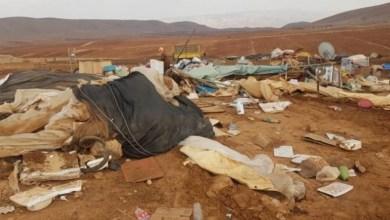 """صورة بريطانيا تعرب عن قلقها من هدم الاحتلال خربة """"حمصة"""" في الأغوار الشمالية"""