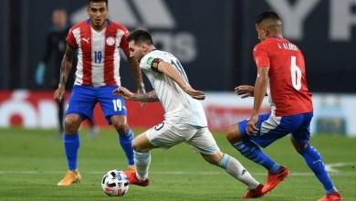 صورة المنتخب الأرجنتيني يكتفي بالتعادل مع باراجواي