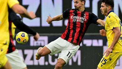 صورة إبراهيموفيتش ينقذ ميلان أمام هيلاس فيرونا ضمن الجولة السابعة من الدوري الإيطالي