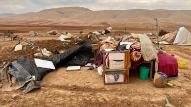 """صورة حركة حماس: هدم """"حمصة البقيعة"""" جريمة تستوجب معاقبة الاحتلال"""
