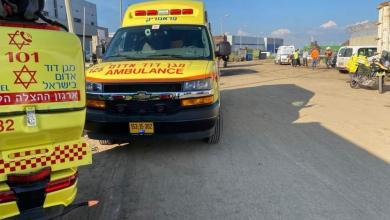 صورة قتيلان وجرحى بانفجار بمصنع في أسدود