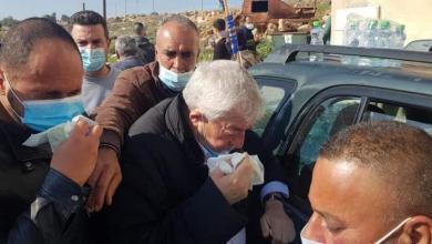 """صورة إصابة 32 مواطناً من بينهم نائب رئيس حركة """"فتح"""" خلال قمع الاحتلال مسيرة منددة بالاستيطان بسلفيت"""