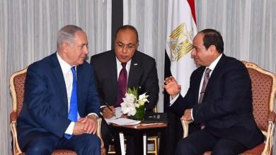 صورة نتنياهو يتلقى دعوة رسمية لزيارة القاهرة