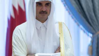 صورة صحيفة عبرية: شعبية أمير قطر تزداد في قطاع غزّة