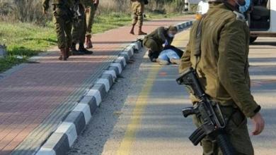 صورة استشهاد شاب فلسطيني بزعم محاولته تنفيذ عملية طعن جنوب بيت لحم