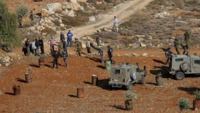 صورة الاحتلال يخطر بالاستيلاء على 17 دونما غرب سلفيت
