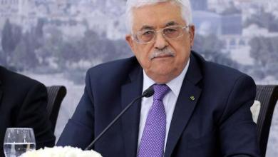 صورة الرئيس عباس يعزي وزير الصحة السابق جواد عواد بوفاة والده