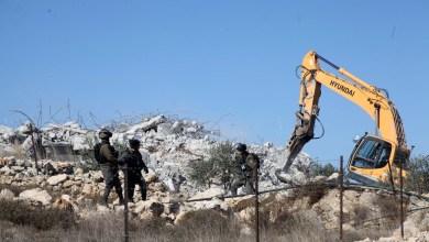 صورة الاحتلال يخطر بهدم منزل قيد الإنشاء في بيت لحم