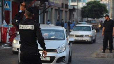 صورة شرطة المرور تُسجل 6 إصابات في حادثي سير يغزة خلال الـ24 ساعة الماضية