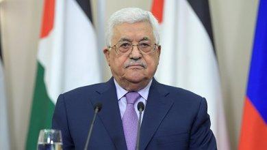 صورة الرئيس عباس يعزّي العاهل الأردني بوفاة الأمير محمد بن طلال