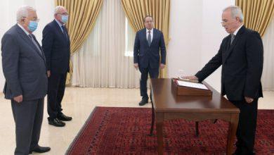صورة سمير الرفاعي يؤدي اليمين القانونية أمام الرئيس سفيرا لدى سوريا