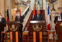 صورة مصر والأردن وفرنسا يطالبون بوقف الإجراءات التي تقوّض حل الدولتين