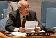 صورة منصور: جلسة لمجلس الأمن الخميس المقبل لمتابعة تنفيذ القرار 2334 بشأن الاستيطان