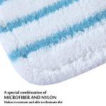 Lingette Patin Balai Vapeur pour Black et Decker Steam Mop, 10 Pièces Serpillere Microfibre Balais Vapeur Compatible pour Black & and Decker FSM1616 FSM1630 FSMH13e10 FSMH13e5 FSM1615 FSMP20 FSM1620