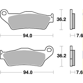 151HF Pastiglie Freno (coppia) HF Ceramic SBS