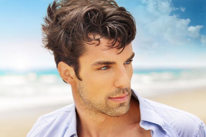 Männerfrisuren Schmales Gesicht Optisch Verbreitern