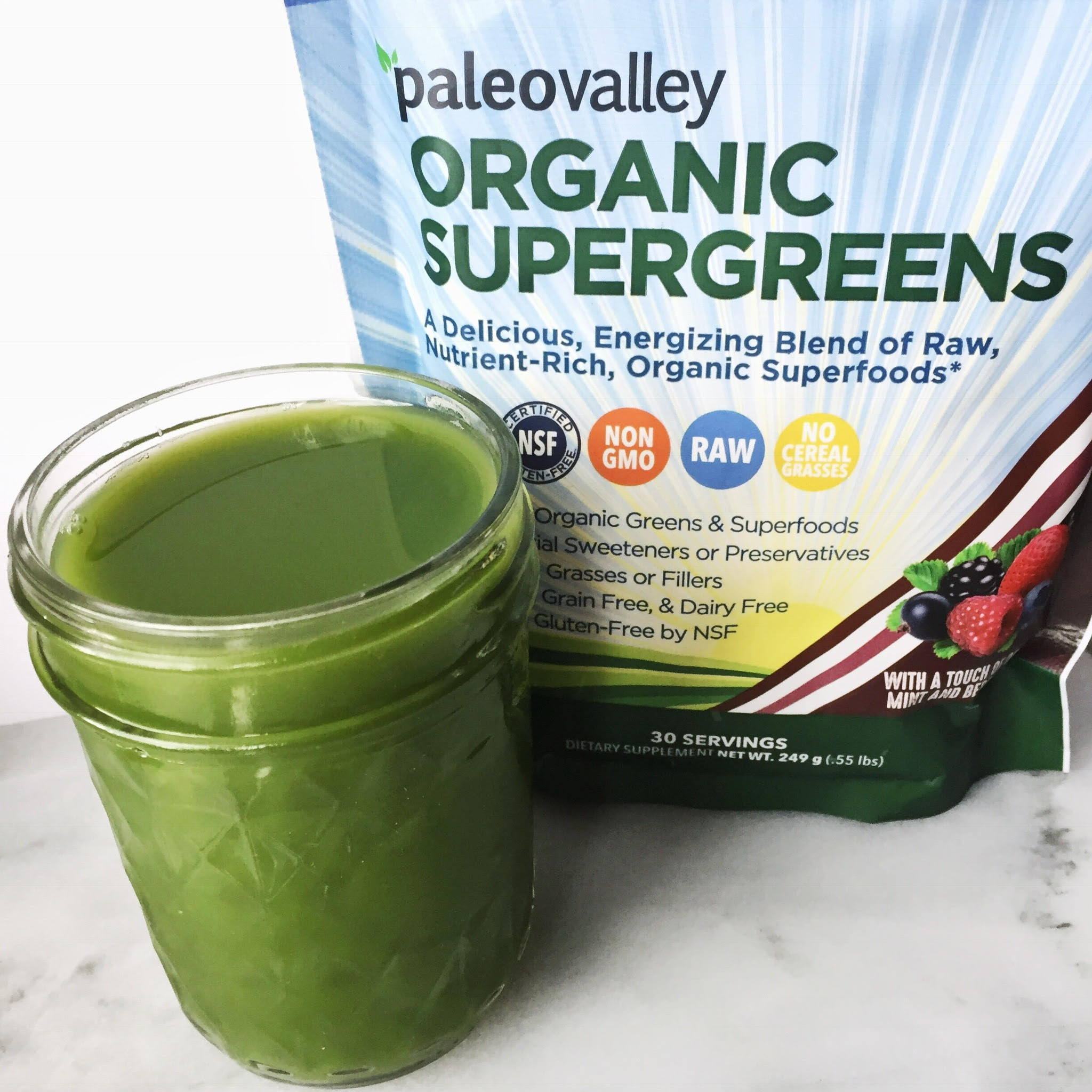Get Your Superfood Green Juice On