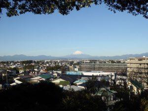 2018.1.12片瀬山からの富士山