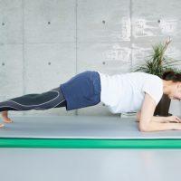 加圧で体幹トレーニング