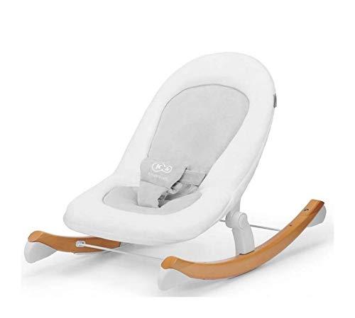 kinderkraft transat bebe finio balancelle multifonctions pliable blanc