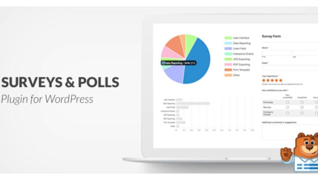 WPForms Survey result report