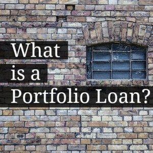 what is a portfolio loan