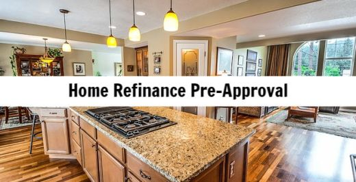 mortgage pre approval bad credit refinance