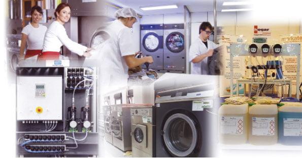 Lavandería, un servicio básico para garantizar la calidad de la atención