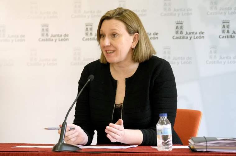 María Isabel Blanco Llamas, consejera de Familia e Igualdad de oportunidades de Castilla y León.