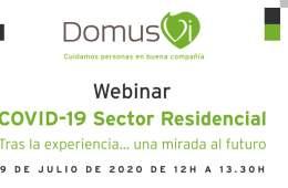 "DomusVi organiza la jornada ""COVID-19 Sector Residencial"""