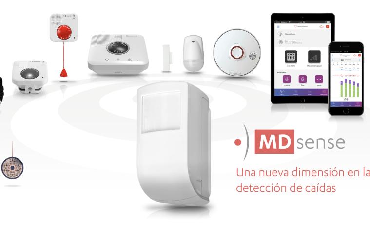Essence SmartCare lanza MDsense para detectar las caídas
