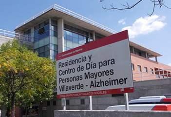 Servicios del Centro Villaverde Alzhéimer