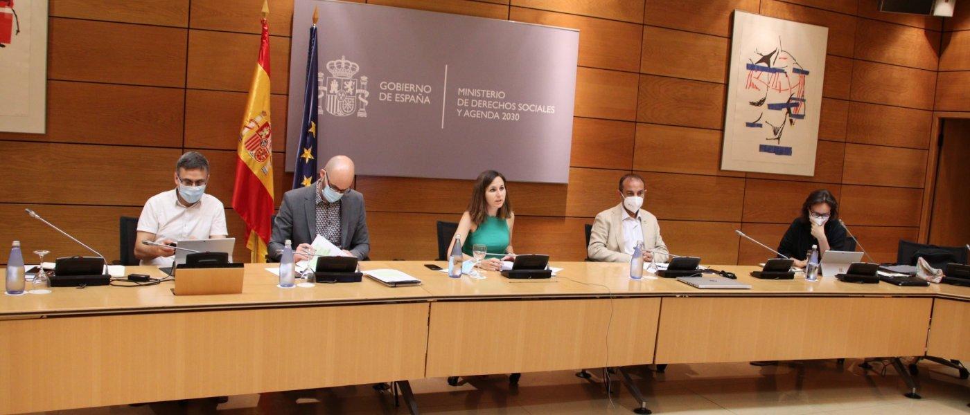 Ministerio y comunidades comienzan a trabajar en el nuevo acuerdo de acreditación de calidad del Sistema de Dependencia