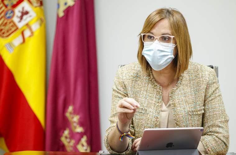 Consejera de Política Social de Murcia Isabel Franco